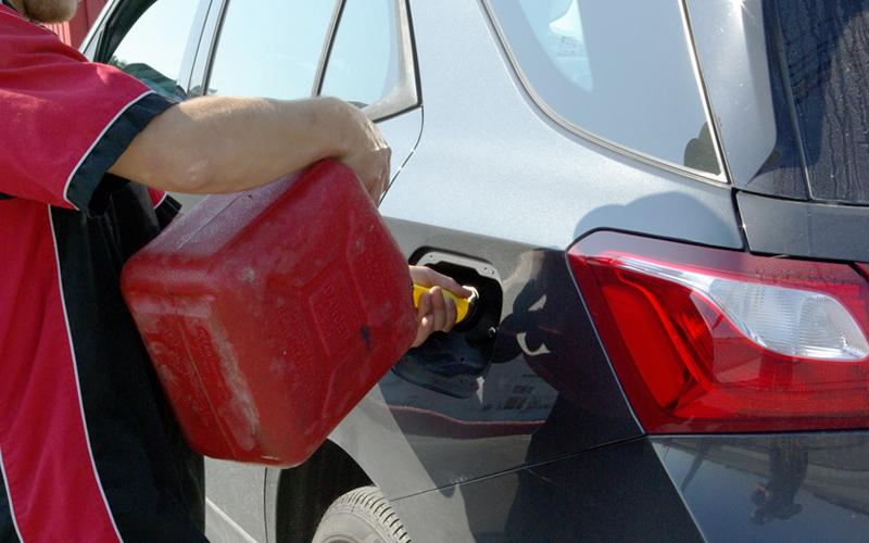 Service de Livraison d'essence - Remorquage de l'Estrie